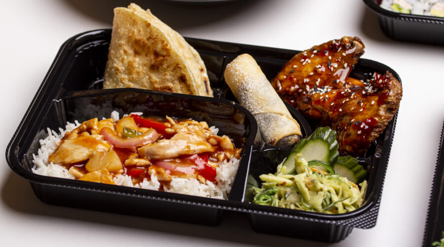Sweet and Sour Bento