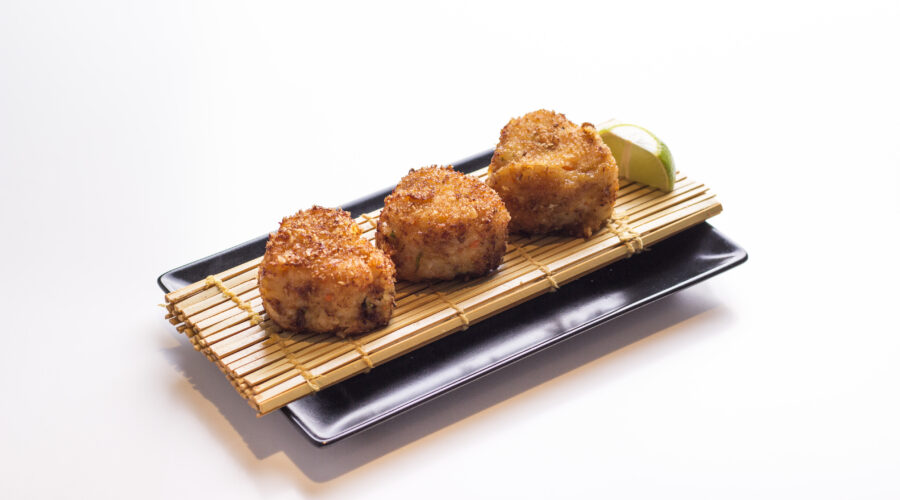 Fried Rice Balls with Miso